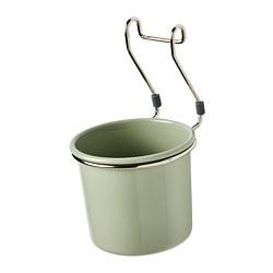 HULTARP - container, green/nickel-plated | IKEA Hong Kong and Macau - PE795424_S3