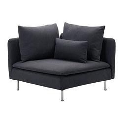SÖDERHAMN - 角位梳化, Samsta 深灰色 | IKEA 香港及澳門 - PE301240_S3