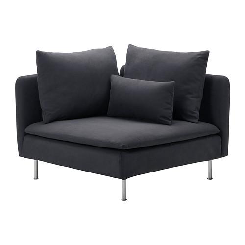 SÖDERHAMN - 角位梳化套, Samsta 深灰色   IKEA 香港及澳門 - PE301240_S4