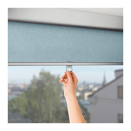 TRETUR - 遮光捲軸簾, 120x195cm, 淺藍色   IKEA 香港及澳門 - PE653520_S4
