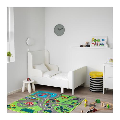 BUSUNGE - extendable bed, white   IKEA Hong Kong and Macau - PE653600_S4