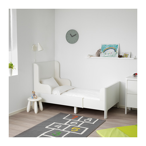 BUSUNGE - extendable bed, white   IKEA Hong Kong and Macau - PE653602_S4