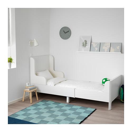 BUSUNGE - extendable bed, white   IKEA Hong Kong and Macau - PE653601_S4