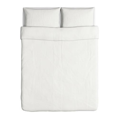 DVALA - 被套連2個枕袋, 白色, 200x200/50x80 cm  | IKEA 香港及澳門 - PE301437_S4