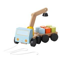 MULA - 起重機車, 彩色/櫸木 | IKEA 香港及澳門 - PE547801_S3