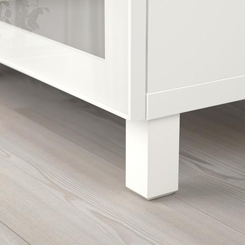 BESTÅ - 貯物組合連門, 白色/Glassvik 白色/透明玻璃 | IKEA 香港及澳門 - PE742402_S4