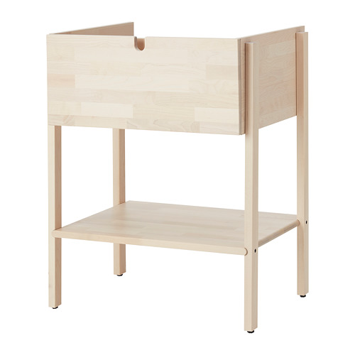 VILTO - 單抽屜洗手盆櫃, 樺木 | IKEA 香港及澳門 - PE778804_S4