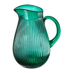 SÄLLSKAPLIG - jug, patterned/green | IKEA Hong Kong and Macau - PE795674_S3