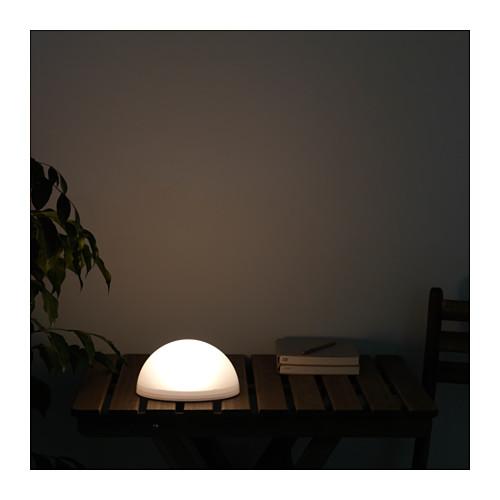 SOLVINDEN - 太陽能LED裝飾燈, 戶外/半球 白色 | IKEA 香港及澳門 - PE653759_S4