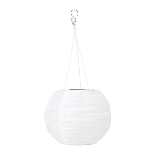 SOLVINDEN - 太陽能LED吊燈, 戶外/球形 白色   IKEA 香港及澳門 - PE653853_S4