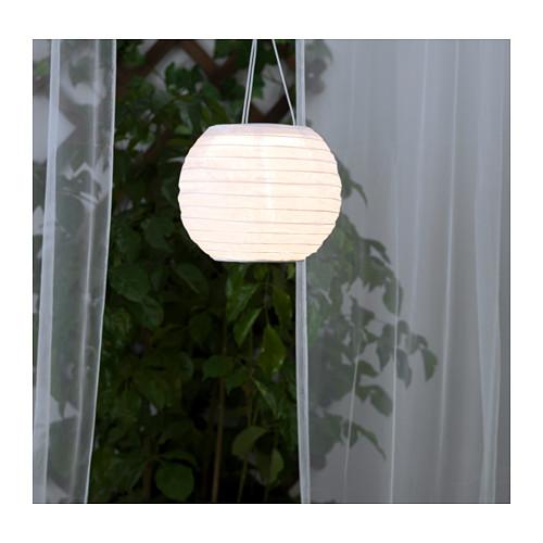 SOLVINDEN - 太陽能LED吊燈, 戶外/球形 白色   IKEA 香港及澳門 - PE653855_S4
