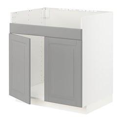 METOD - HAVSEN雙星盆底櫃, 白色/Bodbyn 灰色 | IKEA 香港及澳門 - PE795832_S3