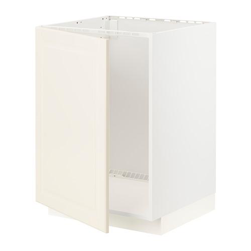 METOD - base cabinet for sink, white/Bodbyn off-white   IKEA Hong Kong and Macau - PE795895_S4