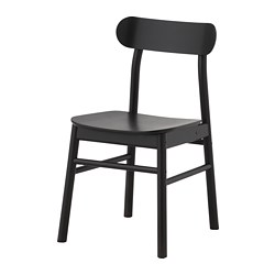 RÖNNINGE - chair, black | IKEA Hong Kong and Macau - PE700892_S3