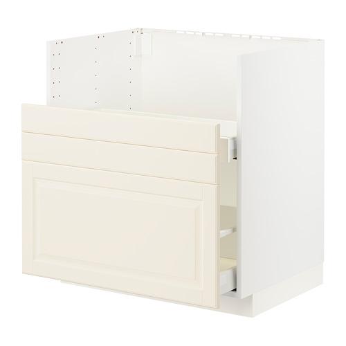METOD/MAXIMERA - bc f BREDSJÖN sink/2 fronts/2 drws, white/Bodbyn off-white | IKEA Hong Kong and Macau - PE795914_S4