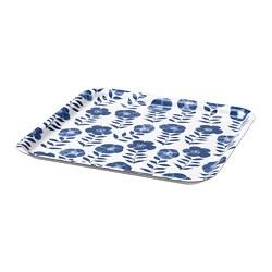 ROSENHÄTTA - 托盤, 花紋/藍色 | IKEA 香港及澳門 - PE795959_S3