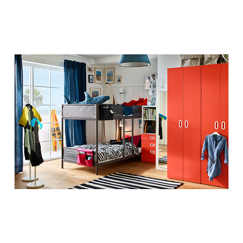 TUFFING - bunk bed frame, dark grey | IKEA Hong Kong and Macau - PH149396_S4