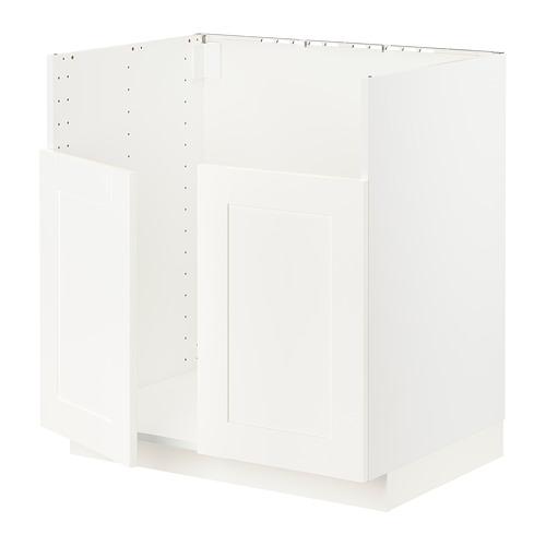 METOD - BREDSJÖN雙星盆底櫃, white/Sävedal white | IKEA 香港及澳門 - PE796000_S4