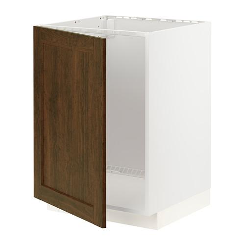 METOD - 星盆用地櫃, 白色/Edserum 褐色 | IKEA 香港及澳門 - PE796269_S4