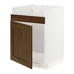 METOD - HAVSEN單星盆底櫃, 白色/Edserum 褐色 | IKEA 香港及澳門 - PE796272_S3