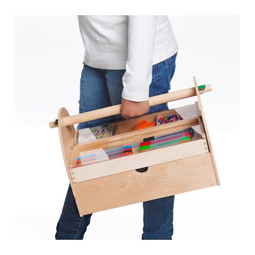 LUSTIGT - 畫具貯物, 木 | IKEA 香港及澳門 - PE654068_S4