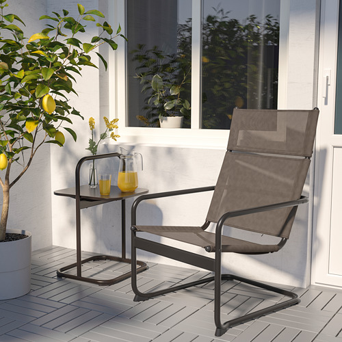 HUSARÖ - side table, outdoor, dark grey | IKEA Hong Kong and Macau - PE742607_S4