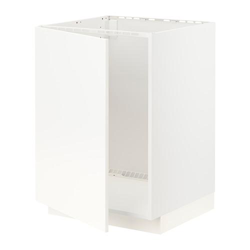 METOD - base cabinet for sink, white/Veddinge white | IKEA Hong Kong and Macau - PE796437_S4