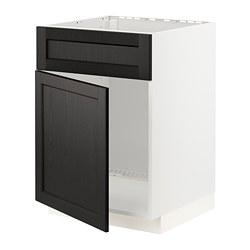 METOD - 星盆用地櫃連門/面板, 白色/Lerhyttan 染黑色 | IKEA 香港及澳門 - PE796315_S3