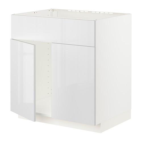 METOD - 星盆用地櫃連一對門/面板, white/Ringhult white | IKEA 香港及澳門 - PE796317_S4