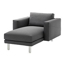 NORSBORG - 躺椅, Finnsta 深灰色/金屬 | IKEA 香港及澳門 - PE654097_S3
