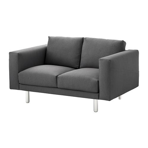 NORSBORG - 兩座位梳化, Finnsta 深灰色/金屬 | IKEA 香港及澳門 - PE654100_S4
