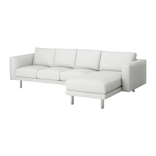 NORSBORG - 四座位梳化, 連躺椅/Finnsta 白色/金屬 | IKEA 香港及澳門 - PE654090_S4