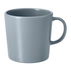 DINERA - 杯, 灰藍色 | IKEA 香港及澳門 - PE701242_S3