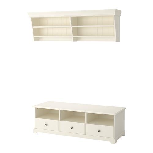 LIATORP - TV storage combination, white | IKEA Hong Kong and Macau - PE701255_S4