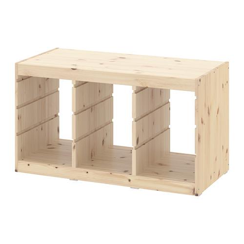TROFAST - frame, light white stained pine | IKEA Hong Kong and Macau - PE701340_S4