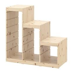 TROFAST - 櫃框, 淺色染白松木 | IKEA 香港及澳門 - PE701345_S3