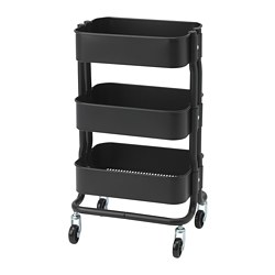 RÅSHULT - trolley, black | IKEA Hong Kong and Macau - PE742748_S3