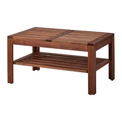ÄPPLARÖ - coffee table, outdoor, brown stained | IKEA Hong Kong and Macau - PE742757_S3