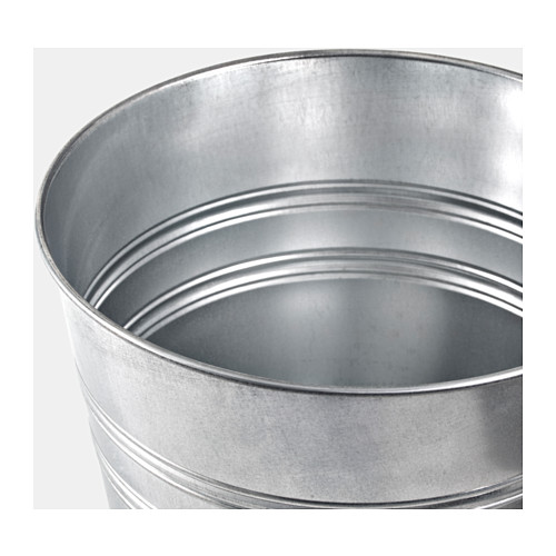 SOCKER - plant pot, in/outdoor/galvanised | IKEA Hong Kong and Macau - PE593914_S4