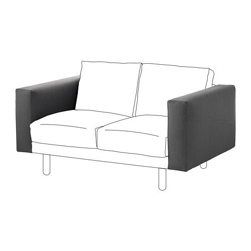 NORSBORG - armrest, Finnsta dark grey | IKEA Hong Kong and Macau - PE654231_S4