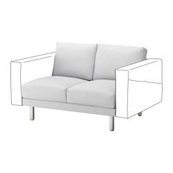 NORSBORG - 兩座位組合, Finnsta 白色/金屬 | IKEA 香港及澳門 - PE654268_S3