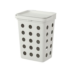 HÅLLBAR - bin for organic waste, light grey | IKEA Hong Kong and Macau - PE742765_S3
