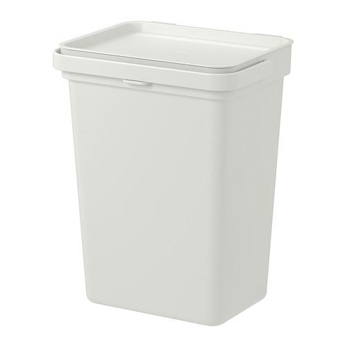 HÅLLBAR - 垃圾桶, 淺灰色 | IKEA 香港及澳門 - PE742782_S4