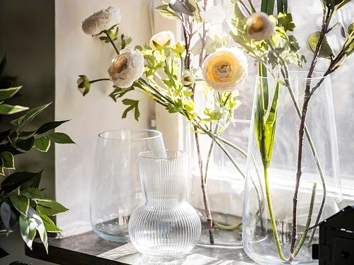 BERÄKNA - 花瓶, 淺灰色 | IKEA 香港及澳門 - PE841571_S4