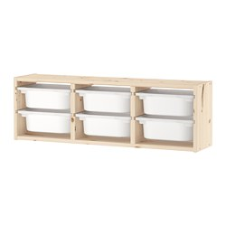 TROFAST - wall storage, light white stained pine/white | IKEA Hong Kong and Macau - PE701455_S3