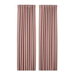 ANNAKAJSA - 半遮光窗簾,一對, 粉紅色 | IKEA 香港及澳門 - PE742840_S3