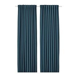 ANNAKAJSA - 半遮光窗簾,一對, 藍色 | IKEA 香港及澳門 - PE742844_S3