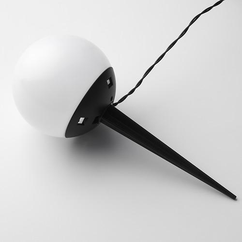 SOLVINDEN - 插地式太陽能LED裝飾燈, 戶外/五莖 白色 | IKEA 香港及澳門 - PE796643_S4