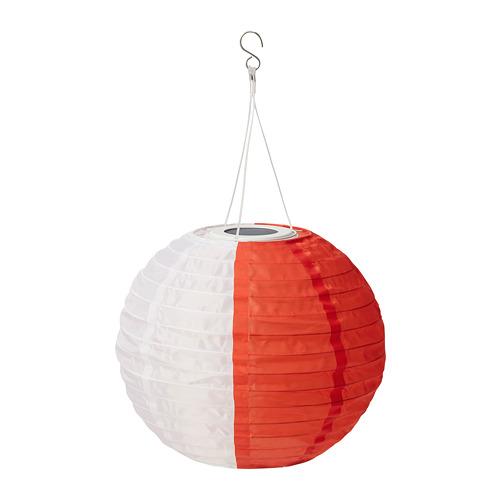 SOLVINDEN - 太陽能LED吊燈, 白色 橙色/戶外 球形 | IKEA 香港及澳門 - PE796663_S4