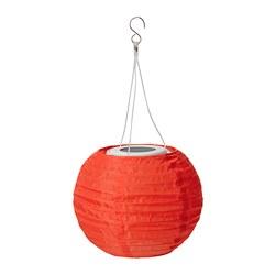 SOLVINDEN - 太陽能LED吊燈, 戶外/球形 橙色 | IKEA 香港及澳門 - PE796672_S3